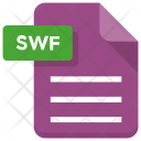 Swf File Sheet Icon