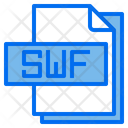 Swf File Format Type Icon