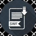 Swf Extension Document Icon