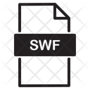 Swf Format Icon