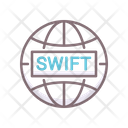 Swift Banking Banking Global Banking Icon