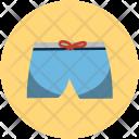 Swim Pants Half Icon