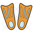 Swim Fins Icon