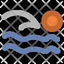 Swimmer Swim Swimming Icon