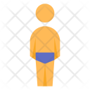 Swimmer Back View Icon