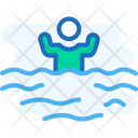 Water Gamesm Swimmer Swimming Icon