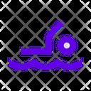 Man Person Swimmer Icon