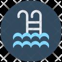 Swimming Pool Steps Icon