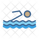 Swimming Aquatics Olympics Icon