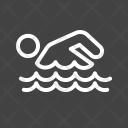 Swimming Person Man Icon