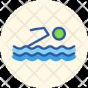 Swimming Aquatics Olympics Icon