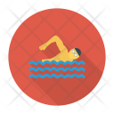 Swimming Pool Swimmer Icon