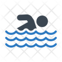 Swimming Pool Water Icon