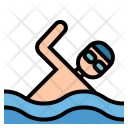 Swimming Sports Swimmer Icon