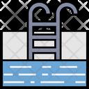 Summer Swimming Pool Icon