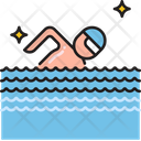 Swimming Swimmer Player Icon