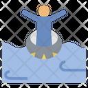 Enjoy Float Relax Icon