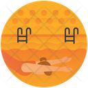 Swimming Water Sports Olympics Game Icon