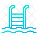 Swimming Swimming Pool Swimming Ladder Icon