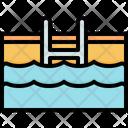 Swimming Pool Beach Icon