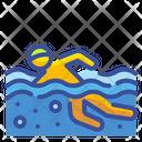 Swimming Sport Hobby Icon