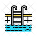 Swimming Pool Tropical Icon