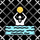 Swimming Exercise Elderly Icon