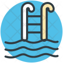 Swimming Pool Steps Icon