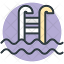 Swimming Pool Relaxation Icon