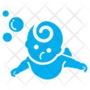 Swimming Baby Baby Kid Icon