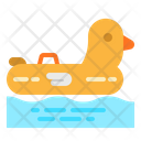 Float Duck Summer Icon