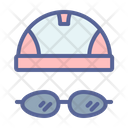 Cap Swimming Water Icon