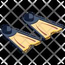 Swimming Fins Icon
