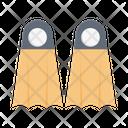 Swimming Fins Swimming Fins Icon