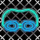 Goggles Swimmer Swimming Icon
