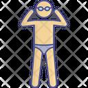 Goggle Swimmer Swimming Icon