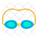 Goggles Swimmer Swimming Icon