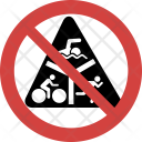 Swimming Stop Allowed Icon