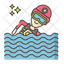 Iswimming Swimming Player Swim Icon