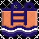Pool Swimming Ladder Icon