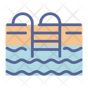 Swimming Pool Holiday Icon