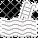 Swimming Pool Swimming Pool Steps Icon