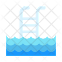 Swimming Pool Pool Ladder Icon