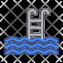 Swimming Poll Ladder Icon