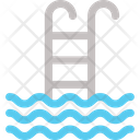 Swimming Swimmer Pool Ladders Icon