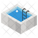 Swimming Pool Water Sports Olympics Game Icon