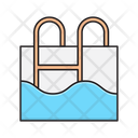 Pool Swimming Stair Icon