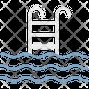 Ladder Pool Sea Icon