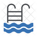 Swimming Pool Stair Icon