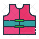 Swimming Safety Jacket Icon